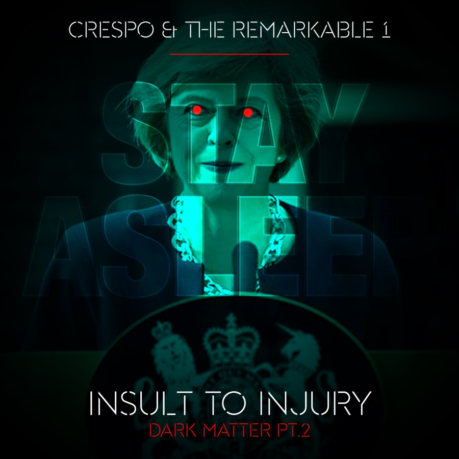 Crespo & The Remarkable 1 - Insult to Injury (Dark Matter Pt.2) - I2I_Cover_2